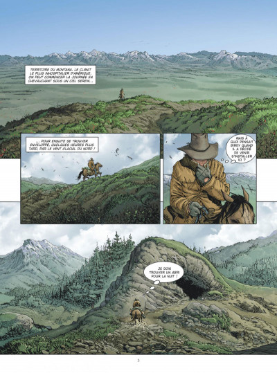 Page 2 Montana - Une aventure de Tex