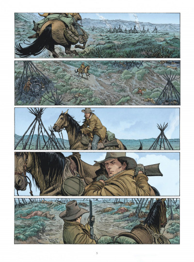Page 4 Montana - Une aventure de Tex