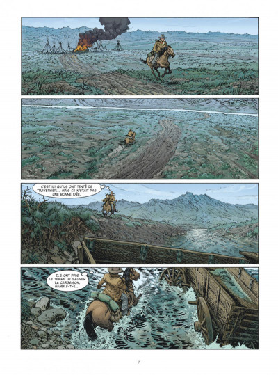 Page 7 Montana - Une aventure de Tex