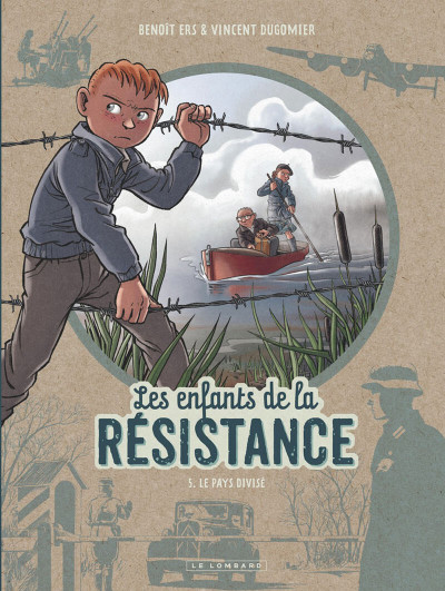 Couverture Les enfants de la Résistance tome 5