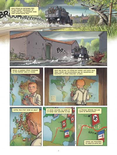 Page 3 Les enfants de la Résistance tome 5