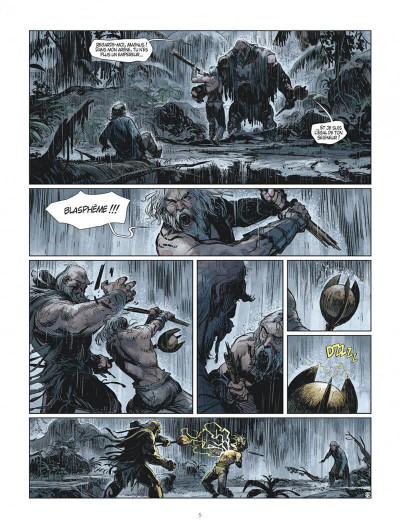 Page 5 Les mondes de Thorgal - Kriss de Valnor tome 8