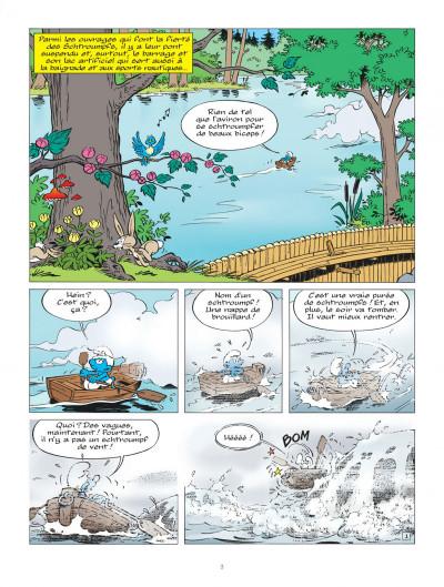 Page 3 Les schtroumpfs tome 36 - Les schtroumpfs et le dragon du lac