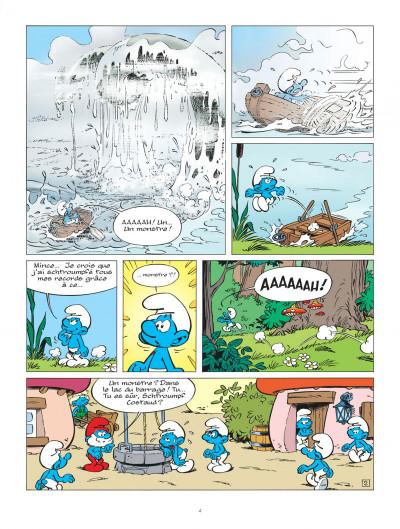 Page 4 Les schtroumpfs tome 36 - Les schtroumpfs et le dragon du lac