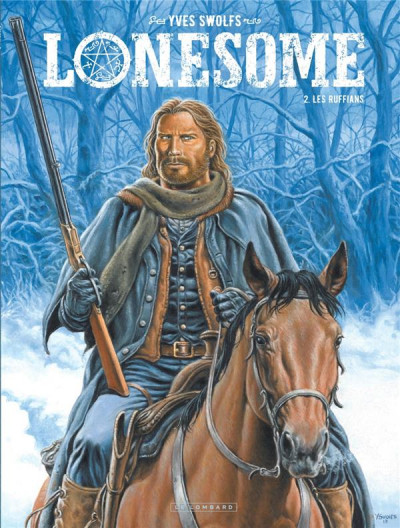 Couverture Lonesome tome 2 + ex-libris offert