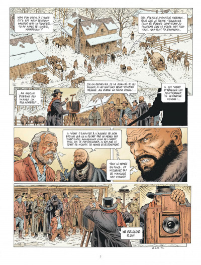 Page 3 Lonesome tome 2 + ex-libris offert