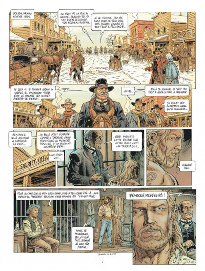 Page 4 Lonesome tome 2 + ex-libris offert