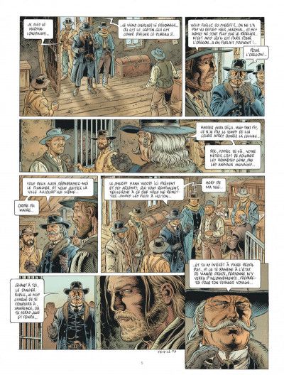 Page 5 Lonesome tome 2 + ex-libris offert