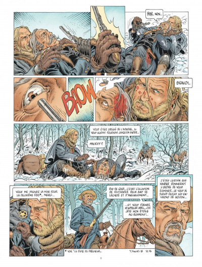 Page 8 Lonesome tome 2 + ex-libris offert