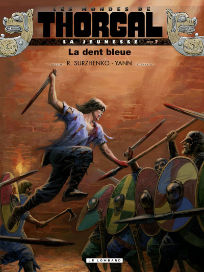 Couverture La jeunesse de Thorgal tome 7