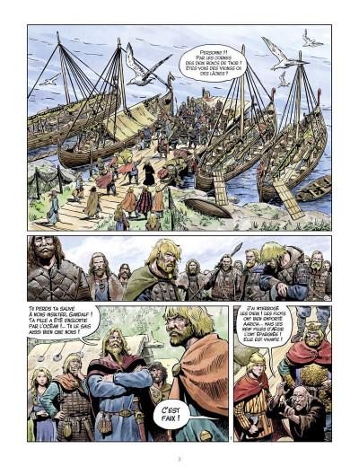 Page 4 La jeunesse de Thorgal tome 7