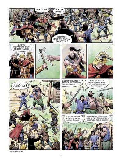 Page 6 La jeunesse de Thorgal tome 7