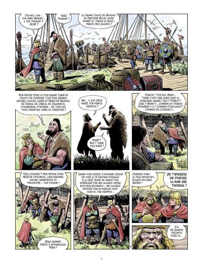 Page 9 La jeunesse de Thorgal tome 7