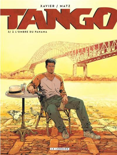 Couverture Tango tome 3 + ex-libris offert