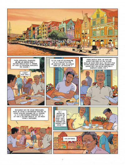 Page 7 Tango tome 3 + ex-libris offert