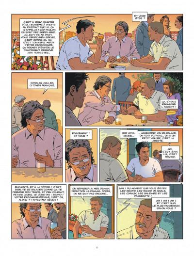 Page 8 Tango tome 3 + ex-libris offert