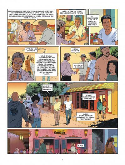 Page 9 Tango tome 3 + ex-libris offert