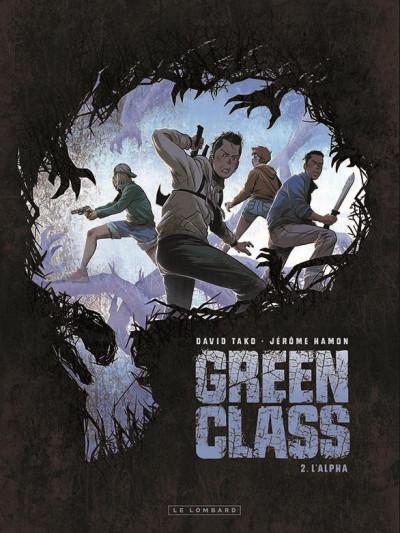 Couverture Green class tome 2 + ex-libris offert