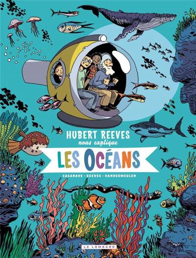 Couverture Hubert Reeves nous explique tome 3 - Les océans