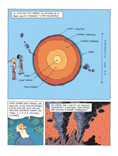 Page 7 Hubert Reeves nous explique tome 3 - Les océans