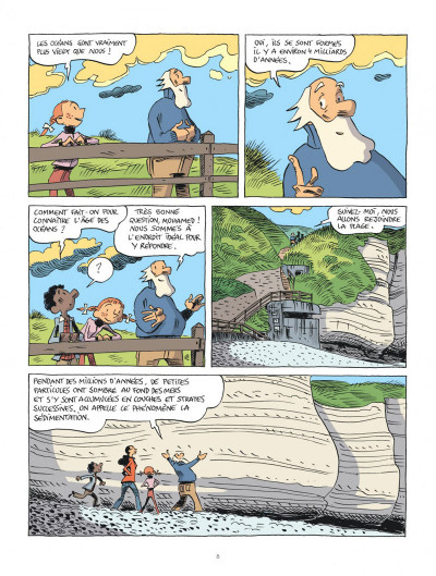 Page 8 Hubert Reeves nous explique tome 3 - Les océans