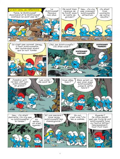 Page 3 Les schtroumpfs tome 37 - Les schtroumpfs et la machine à rêver