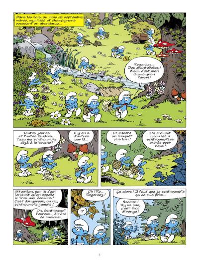 Page 4 Les schtroumpfs tome 37 - Les schtroumpfs et la machine à rêver