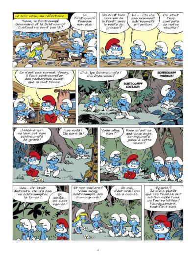 Page 5 Les schtroumpfs tome 37 - Les schtroumpfs et la machine à rêver