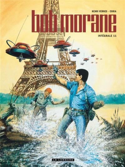 Couverture Bob Morane - intégrale nouvelle version tome 11