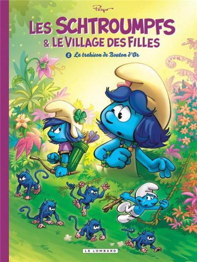 Couverture Les schtroumpfs et le village des filles tome 2