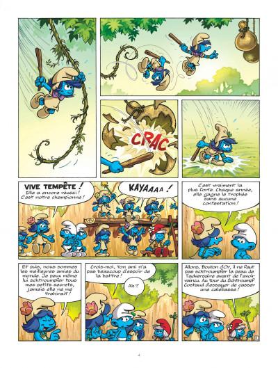 Page 4 Les schtroumpfs et le village des filles tome 2
