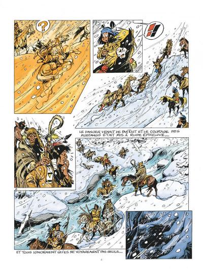 Page 4 Yakari tome 40