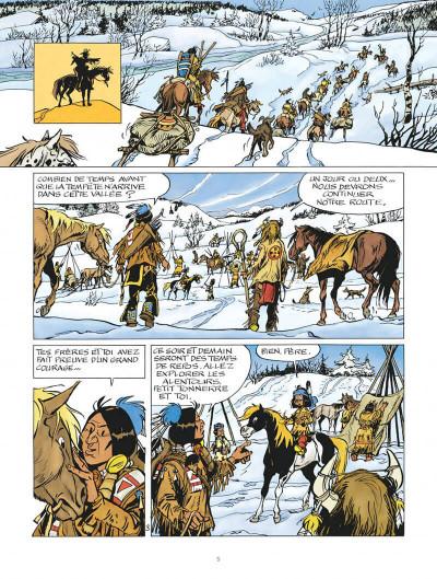 Page 5 Yakari tome 40