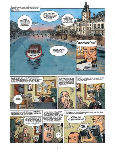 Page 3 Les nouvelles enquêtes de Ric Hochet tome 4 + ex-libris offert
