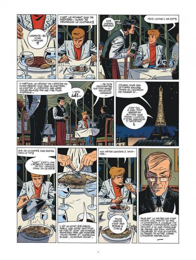 Page 4 Les nouvelles enquêtes de Ric Hochet tome 4 + ex-libris offert