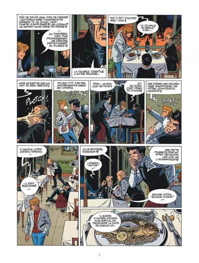 Page 5 Les nouvelles enquêtes de Ric Hochet tome 4 + ex-libris offert