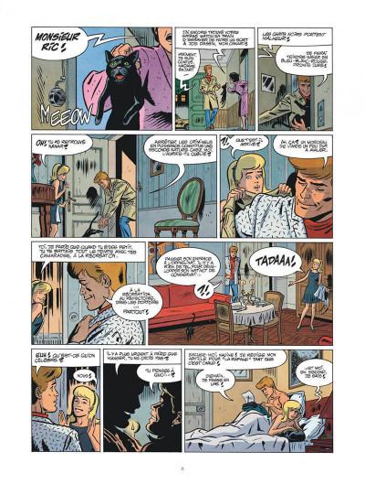 Page 6 Les nouvelles enquêtes de Ric Hochet tome 4 + ex-libris offert