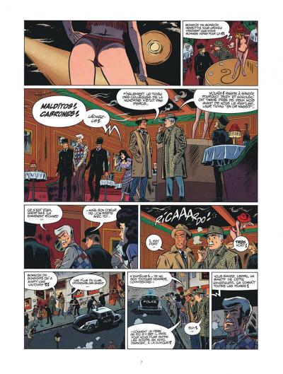 Page 7 Les nouvelles enquêtes de Ric Hochet tome 4 + ex-libris offert