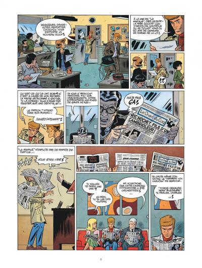 Page 8 Les nouvelles enquêtes de Ric Hochet tome 4 + ex-libris offert