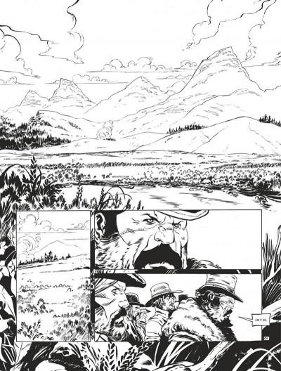 Page 5 Texas Jack - édition noir & blanc