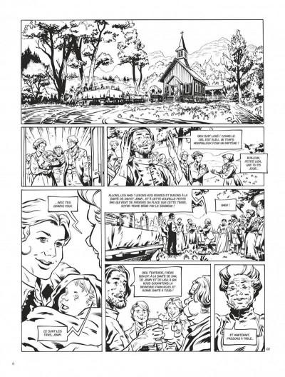 Page 6 Texas Jack - édition noir & blanc