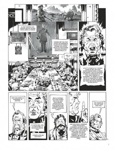 Page 7 Texas Jack - édition noir & blanc