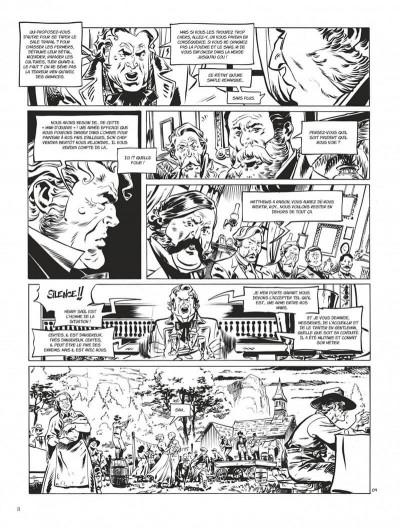 Page 8 Texas Jack - édition noir & blanc