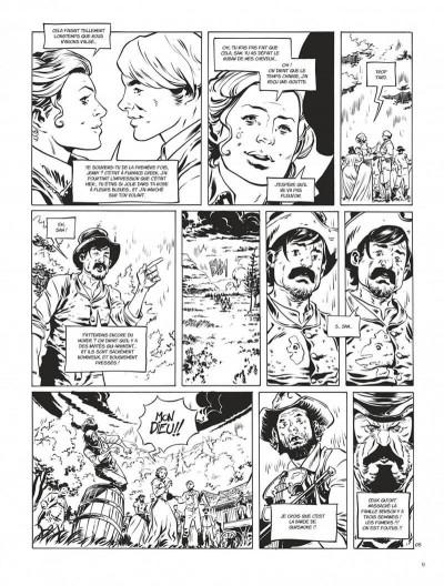 Page 9 Texas Jack - édition noir & blanc