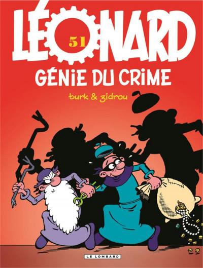 Couverture leonard - tome 51 - genie du crime