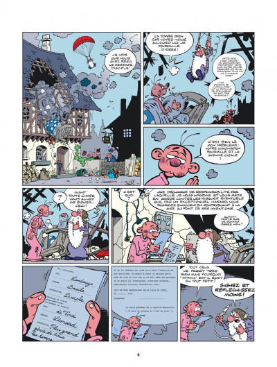 Page 4 Léonard tome 51
