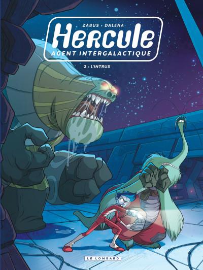 Couverture Hercule, agent intergalactique tome 2