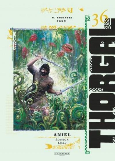 Couverture Thorgal - tirage de luxe tome 36 - Aniel