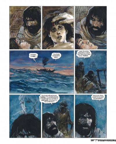 Page 7 Thorgal - tirage de luxe tome 36 - Aniel