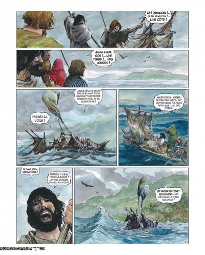 Page 8 Thorgal - tirage de luxe tome 36 - Aniel